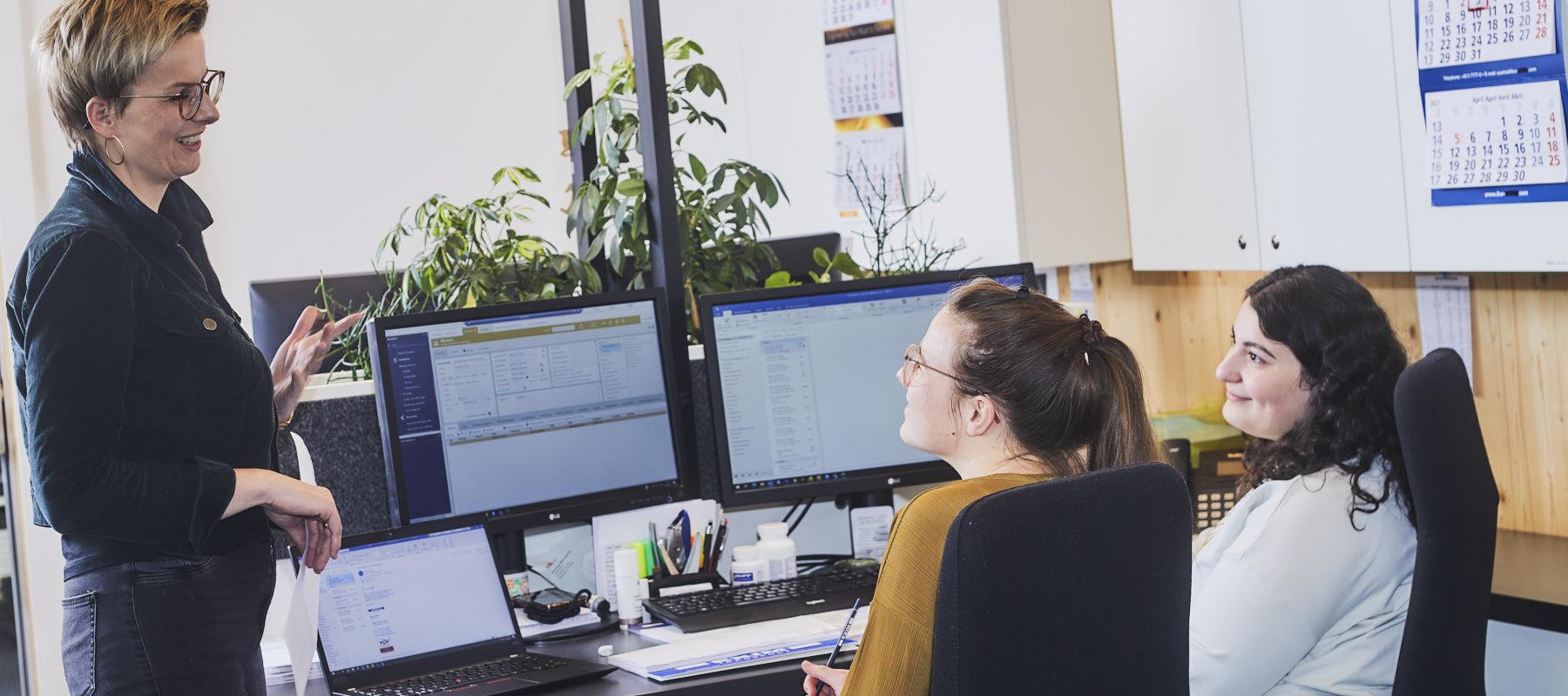 EXIM | Lehrling Bürokaufmann/-frau